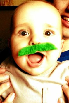 """Bill Rancic tweeted a too-cute pic of he and wife Giuliana's baby boy on March 17, 2013, writing: """"Happy St. Patrick's Day from Baby O'Duke ..."""