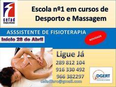 FARO: Assistente de Fisioterapia  » Início: 28 de Abril