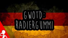 Today's #German word of the day is: das Radiergummi | Have you ever used a #Radiergummi in school? :D  #gwotd