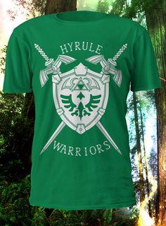 Hyrule Warriors  Legend of Zelda Tshirt par LonLonLady sur Etsy