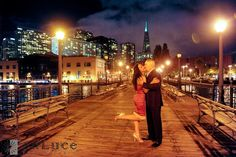 San Francisco Engagement Session Pictures at the Embarcadero, Palace of Fine Arts, Divisadero, and Chinatown | Enluce San Francisco Bay Area Napa Sonoma Wine Country Wedding Photographer