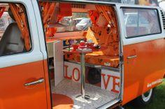 vw bus orange love bt43