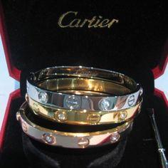 The Cartier Love Bracelets