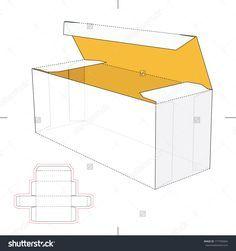 Resultado de imagen para hot dog box packaging troquel
