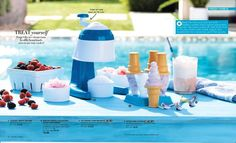 Start your summer off right! Make sure you have your snow cone maker (perfect for frozen drinks 🍹)! Get yours at https://www.avon.com/product/avon-living-parlor-treats-collection-snow-cone-maker-55695?rep=adrianacarlson&utm_content=buffer5543d&utm_medium=social&utm_source=pinterest.com&utm_campaign=buffer