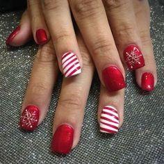 Christmas Nail Designs 8