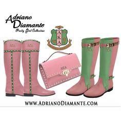AKA boots and purse
