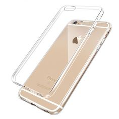 2016 Newest 0.3mm Ultrathin Clear Transparent TPU Silicone Soft Cover Case  For iPhone 6 7 6s Plus 5s 5 back cover case