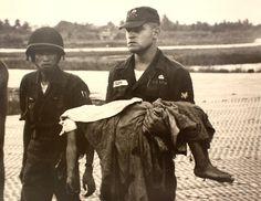 Vietnam War-no wonder they have emotional problems.  Soon no more war!