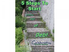 Need to get out of debt? 5 simple steps to get started right now.