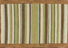 Nature's Path Rag Rug 36x60 Cream Green Brown Striped Casual Country Cabin Lodge Home Décor BCD http://www.amazon.com/dp/B00K1Q9DJM/ref=cm_sw_r_pi_dp_c4p.tb1QJVPWT