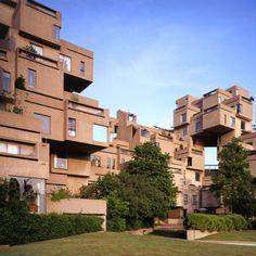 Habitat 67, Montreal by Moshe Safdie