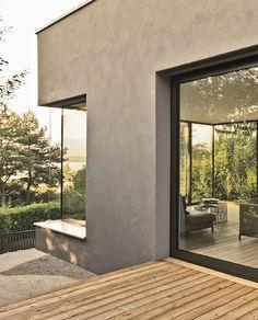 Au-dessus du Lac, Hermance – Valentine Bärg Architectures Architecture, Oversized Mirror, Exterior, Windows, House, Furniture, Home Decor, Arquitetura, Decoration Home