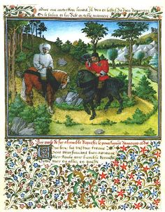 King Rene's Book of Love :<i>Le Cueur d'Amours Espris folio 31