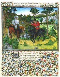 King Rene's Book of Love :<i>Le Cueur d'Amours Espris folio 31
