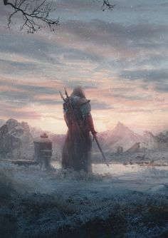 Fantasy Art Engine | fantasyartwatch:   Before Dark by Matthias de...