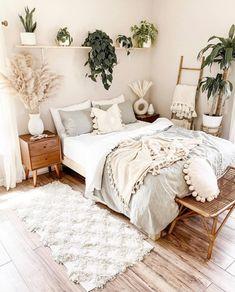 Home Interior Cocina .Home Interior Cocina Bedroom Green, Room Ideas Bedroom, Small Room Bedroom, Home Bedroom, Bedroom Decor Boho, Wall Art Bedroom, Bedroom Designs, Boho Bed Room, Small Bedroom Decorating