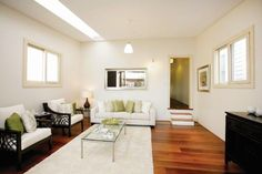 Lilyfield House - contemporary - living room - sydney - Danny Broe Architect
