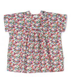 Dress Plastron flower print