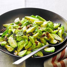 Sauteed Brussels Sprouts with Pecans http://www.myrecipes.com/recipe/sauteed-brussels-50400000117812/