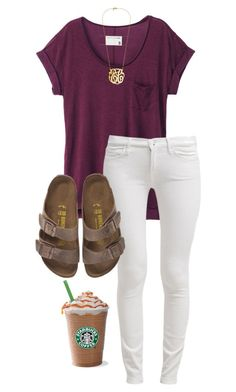 """Ready for Fall! "" by cgriffin03 ❤ liked on Polyvore featuring rag & bone, 7 For All Mankind, Birkenstock, women's clothing, women's fashion, women, female, woman, misses and juniors"