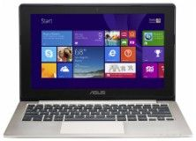 "Asus - 11.6"" Touch-Screen Laptop - Intel Pentium - 4GB Memory - 500GB Hard Drive - Champagne - X202EDH21TCG - Best Buy"