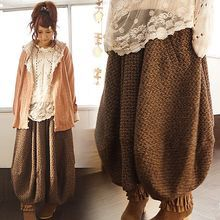 Ideas Fashion Boho Winter Mori Girl For 2019 knit bloomer pants lace top light hooded jacket Record of Knitting String rotating, weaving and sewing jobs such as for . Filles Alternatives, Mode Mori, Mori Girl Fashion, Fashion Women, Forest Girl, Diesel Punk, Winter Skirt, Mode Style, Japanese Fashion