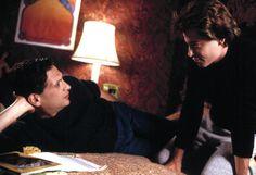 TORCH SONG TRILOGY, Harvey Fierstein, Matthew Broderick, 1988   Essential Film Stars, Matthew Broderick http://gay-themed-films.com/film-stars-matthew-broderick/