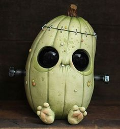"Rotten Pumpkinstein from my show ""Harvest Moon"" is available for easy checkout now at Circusposterus.com in the store section under ""originals"". ☠"