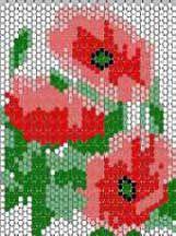 Free Pattern: Poppies