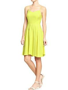 Womens Poplin-Crepe Dresses (I have this in coral, blue floral and white with pink flowers)