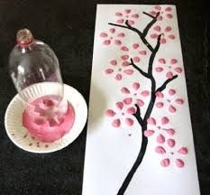 Cheap Crafts To Make and Sell - Cherry Blossom Art From Recycled Soda Bottle - Inexpensive Ideas for DIY Craft Projects You Can Make and Sell On Etsy, at Craft Fairs, Online and in Stores. Quick and C (Diy Projects To Sell) Diy Craft Projects, Kids Crafts, Cute Crafts, Crafts To Make, Projects To Try, Project Ideas, Preschool Crafts, Art Projects For Teens, Simple Crafts