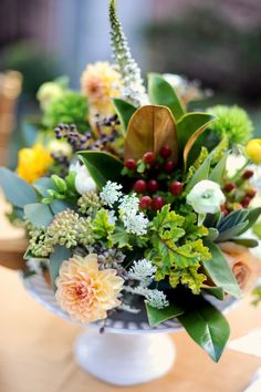 rustic floral centerpieces | floral arrangements, from a gorgeous wreath to beautiful centerpieces ...