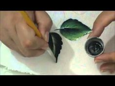 Pintando Folhas - Parte 1 - YouTube