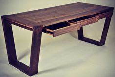 walnut desk by david gunn