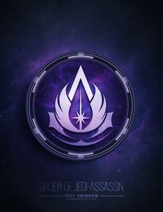 The progeny of the Assassin's Creed franchise and the Star Wars franchise Assassin Logo, Assassins Creed Tattoo, Star Wars Pictures, Star Wars Images, Star Wars Jedi, Star Wars Art, Jedi Symbol, Assassin's Creed Wallpaper, Star Wars Drawings