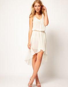 Love Chiffon  scoop neckline Maxi Dress - Basadress.com