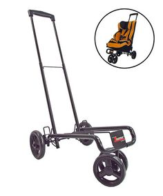 Look what I found on #zulily! Black Zoomer Car Seat Stroller Frame by Lilly Gold #zulilyfinds