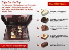 ¡Celebra el 15º Día Internacional de la Familia con los dulces caramelos de chocolate! Fondant, Relleno, Chocolate Candies, Cream Puff Filling, Bonbon, Sweets, Healthy Baking, International Day, Candies