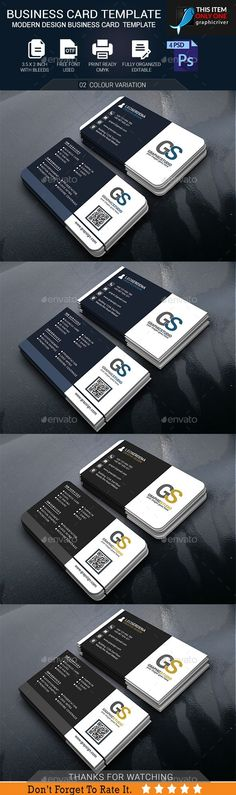 #Business #Card #Template - Business Cards Print Templates