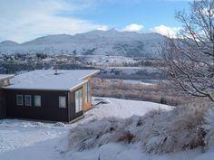 Queenstown house rental - Winter view looking over to Coronet Peak