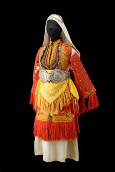 Wedding dress, c. 1900, Miyak, Smilevo, Demir Hisar municipality, Macedonia.