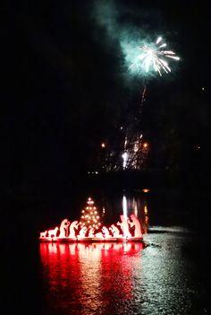 Feuerwerk zur Einweihung!