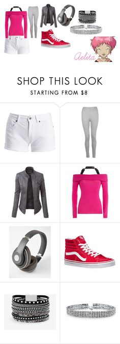 """Code Lyoko"" by getjinxed205 ❤ liked on Polyvore featuring Barbour International, Boohoo, LE3NO, Moschino, Beats by Dr. Dre, Vans, White House Black Market and Bling Jewelry"