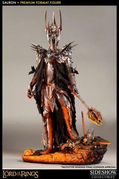 Estatua El Señor de los Anillos. Sauron 91 cms. Premium Format. Sideshow Collectibles