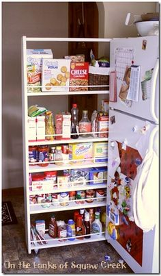 How To Build a Pull-Out Pantry