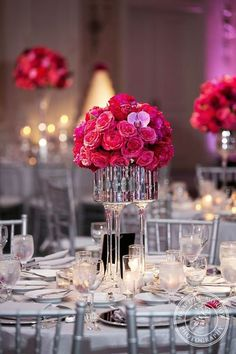 Silver is a stunning sparkling color, which is ideal for winter weddings. Here sequins and glitter are number one for overall décor: tablecloths and table runners, centerpieces and table numbers, and don't forget about your look!