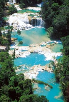 Mexico - Cascadas de Agua Azul Chiapas