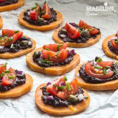 Bruschete cu cartof dulce / Sweet potato bruschetta - Madeline's Cuisine