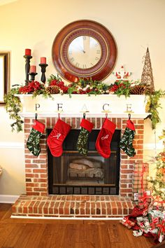 Not the decoration but the thick mantel trim.  Want it. Need it. Gotta have it.